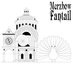 Album cover for Fantail by Merzbow