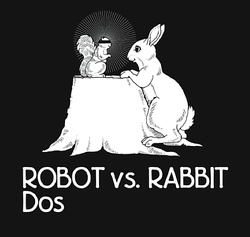 Album cover for Dos by Robot vs. Rabbit