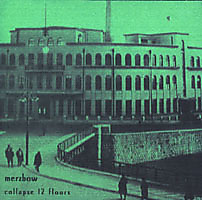 Album cover for Collapse 12 Floors by Merzbow