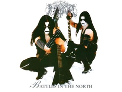 Album cover for Battles In The North by Immortal