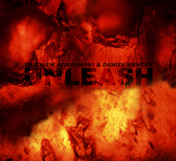 Album cover for Unleash by Zbigniew Karkowski and Daniel Menche