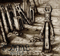 Album cover for Outre by Portal