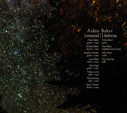 Album cover for Liminoid/Lifeforms by Aidan Baker