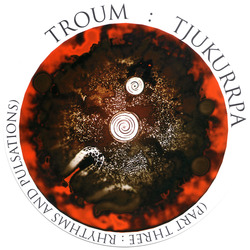 Album cover for TJUKURRPA (Part Three: Rhythms and Pulsations) by Troum